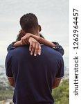 backview of man with girlfriend'... | Shutterstock . vector #1262964457