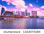 singapore  singapore   march 1  ... | Shutterstock . vector #1263074284