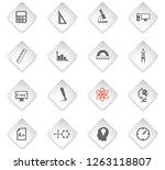 university flat rhombus web... | Shutterstock .eps vector #1263118807