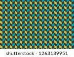 3d cubes patterns background    ...   Shutterstock . vector #1263139951