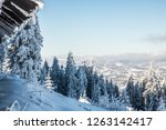 winter mountaine landscape from ...