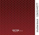 seamless hexagon pattern...   Shutterstock .eps vector #1263144577