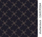 black seamless textures. vector ...   Shutterstock .eps vector #1263193264