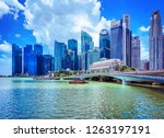 singapore  singapore   march 1  ... | Shutterstock . vector #1263197191