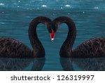 black swan | Shutterstock . vector #126319997