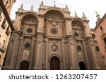 view of the architecture of... | Shutterstock . vector #1263207457