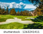 view of golf course at furry... | Shutterstock . vector #1263241411