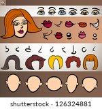 cartoon illustration of funny... | Shutterstock .eps vector #126324881