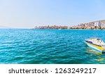 ionian sea at albania   saranda ... | Shutterstock . vector #1263249217