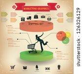 shopping business graphics... | Shutterstock .eps vector #126326129