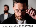 smart glance. accessory for... | Shutterstock . vector #1263307201