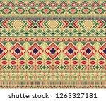 peruvian american indian... | Shutterstock .eps vector #1263327181
