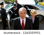 businessman and colleagues... | Shutterstock . vector #1263355951