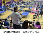 man applauding athletes in...   Shutterstock . vector #1263440761