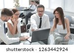 group of business people... | Shutterstock . vector #1263442924