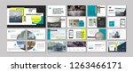 original modern presentation...   Shutterstock .eps vector #1263466171
