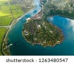 national park de butrint .... | Shutterstock . vector #1263480547