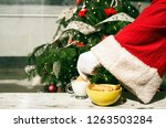 Santa Claus Hand Deep Cookie...