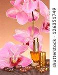 women's perfume in beautiful... | Shutterstock . vector #126351749