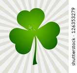 clover leaf element background... | Shutterstock . vector #126353279