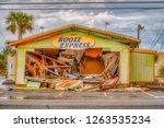 panama city beach florida ... | Shutterstock . vector #1263535234