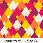 seamless vector geometric... | Shutterstock .eps vector #126355457