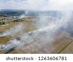 Aerial View Sky Landscape From...