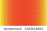abstract halftone pattern ... | Shutterstock . vector #1263616831