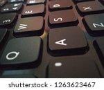 keyboard of a laptop   Shutterstock . vector #1263623467