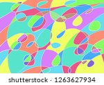 cute abstract freehand drawing... | Shutterstock . vector #1263627934