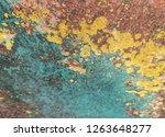 iron rust  steel rust  steel... | Shutterstock . vector #1263648277