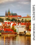 overview of old prague from... | Shutterstock . vector #126365891