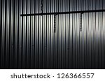 iron chain on a background of... | Shutterstock . vector #126366557