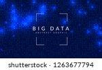 quantum computing background....   Shutterstock .eps vector #1263677794