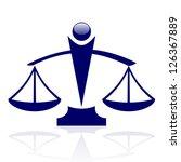 Vector Icon   Justice Scales