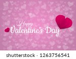 illustration paper  of love... | Shutterstock . vector #1263756541
