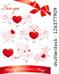 hearts set | Shutterstock .eps vector #126377909