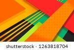 5k abstract monitor wallpaper....   Shutterstock . vector #1263818704
