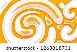 5k abstract monitor wallpaper....   Shutterstock . vector #1263818731