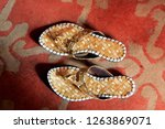 joothi   a traditional footwear ... | Shutterstock . vector #1263869071