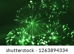 artificial neural network. big... | Shutterstock . vector #1263894334