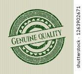 green genuine quality... | Shutterstock .eps vector #1263902671