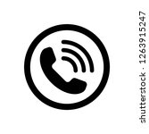 phone icon vector  editable...
