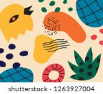 abstract color pattern of... | Shutterstock .eps vector #1263927004
