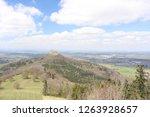 wide anlge shot of castle...   Shutterstock . vector #1263928657
