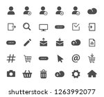 account web icons. ui elements. ...