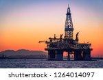 Oil Platform In Guanabara Bay ...