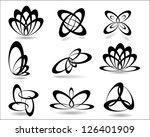 geometric symbols.