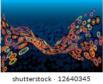 abstract creative background | Shutterstock .eps vector #12640345