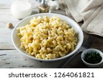 mac and cheese | Shutterstock . vector #1264061821